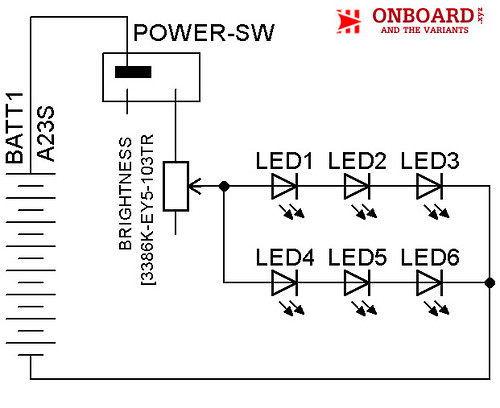 MacroRingLight Schematic