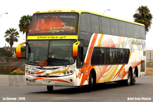 Atacama Vip - La Serena (Chile) - Busscar Panorâmico DD / Volvo (BDYH20)