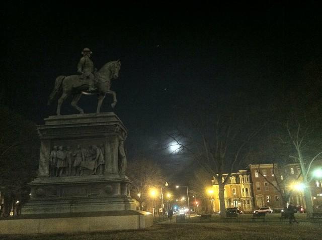 Moon over Logan
