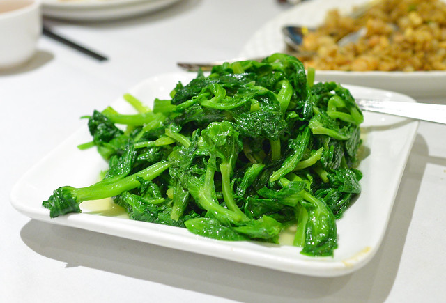 Pea Tendrils sauteed with garlic