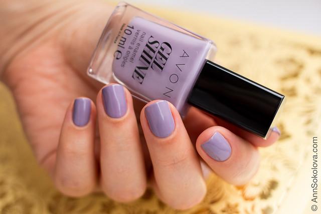 03 Avon 64780 Lavender Sky Лавандове Небо Ann Sokolova swatches