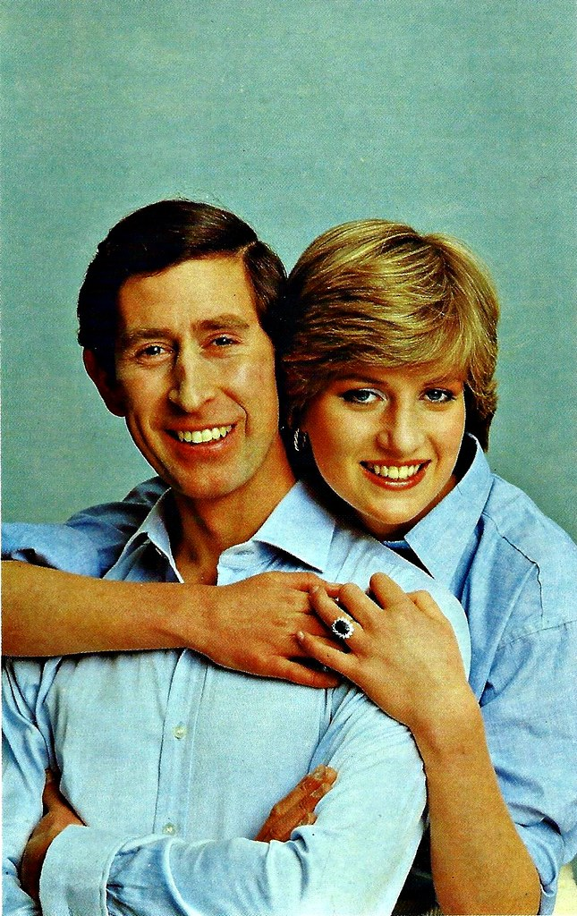 Prince Charles & Princess Diana, Sovereign Series Royal Wedding 1981, No. 10 Informal Portrait By Lord Snowden, July 26, 1981, Published By Prescott-Pickup & Co. Ltd, Made In England