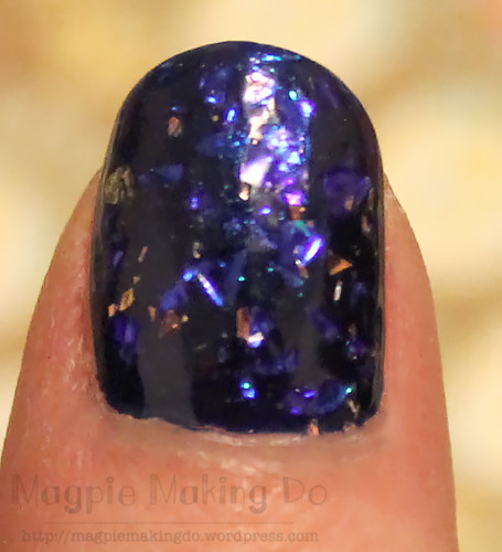 Butter London Bluecoat and Leccy closeup
