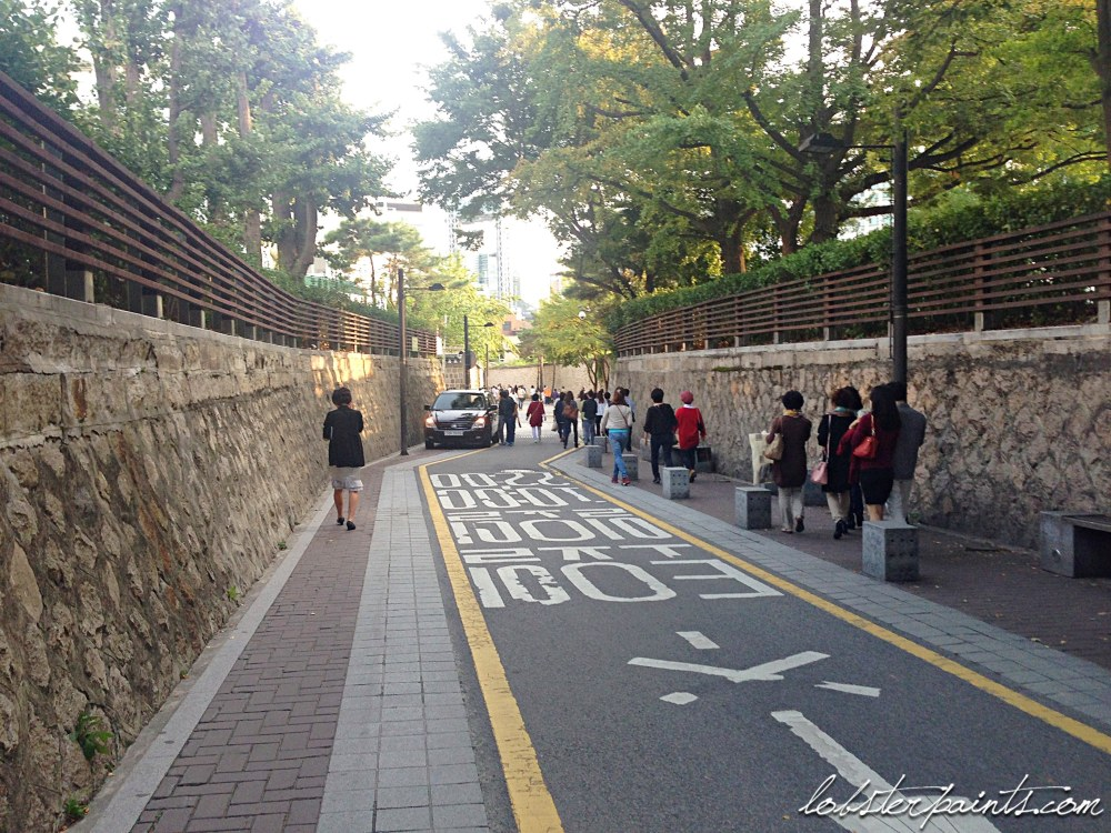 30 Sep 2014: Samcheongdong 삼청동   Seoul, South Korea