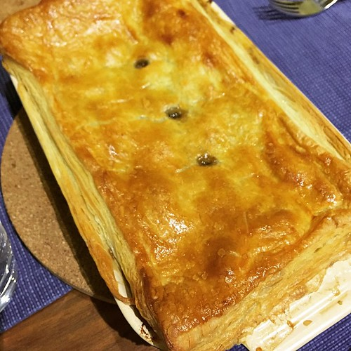 Cow pie for dinner. @RosieRamsden recipe, @breadahead puff pastry.