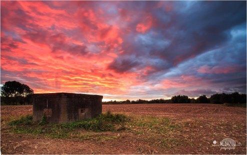 Autumn fills sky with colors | Huissen october 2016