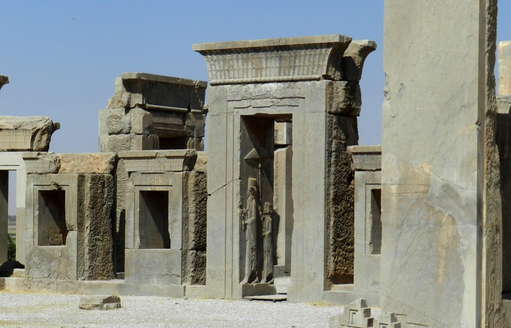 Palacio de Dario o Tachara Persépolis Irán 03