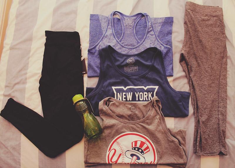 November workout clothes