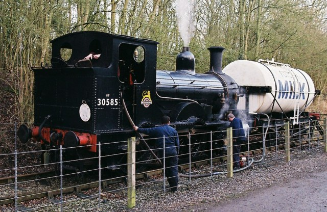 30585 Beattie well tank engine, Shenton, 17th March 2013