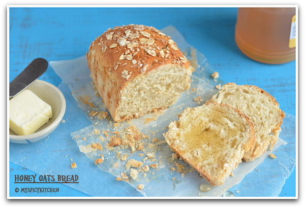 Honey Oats Bread