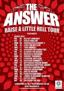 The Answer tour poster