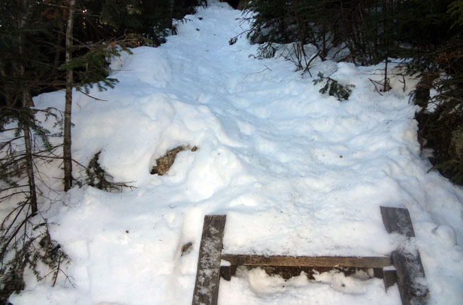 Osseo Trail Winter Ladders