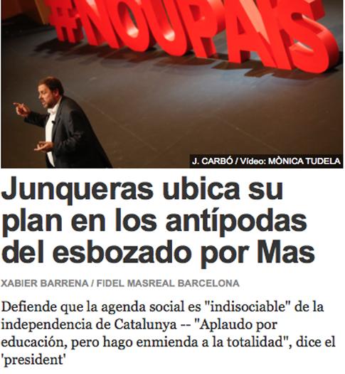 14l03 EPeriódico Junqueras Mas enmiendad totalidad