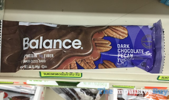 Balance Dark Chocolate Pecan Turtle Nutrition Bar
