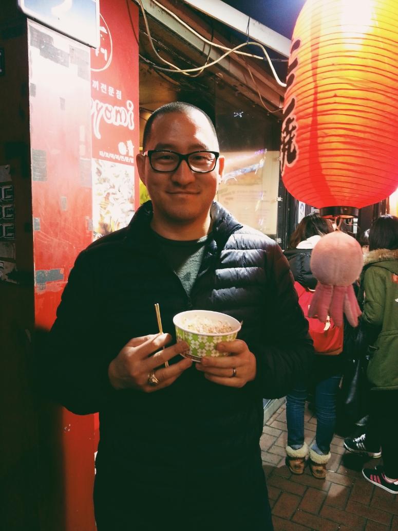 Tokoyomi takoyaki / downtown Daegu