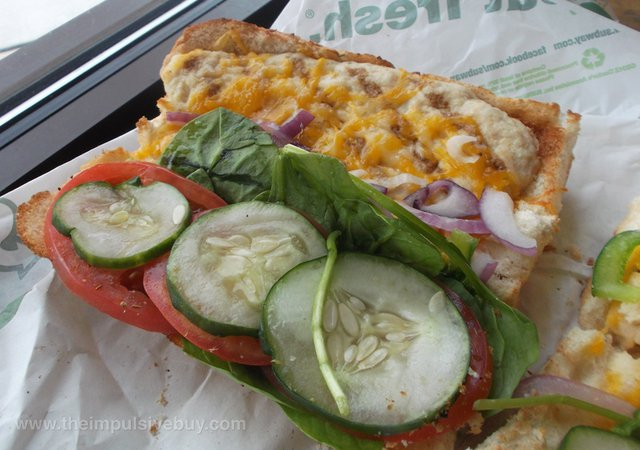 Subway Monterey Chicken Melt wRoasted Chicken