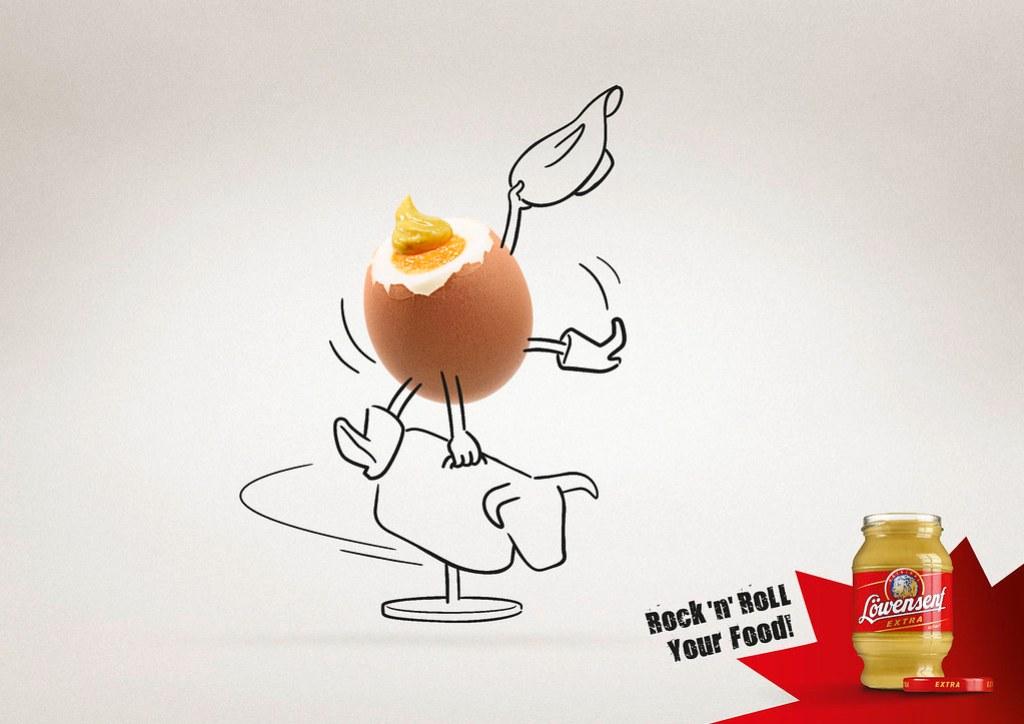 Löwensenf Löwensenf Extra Hot Mustard - Egg
