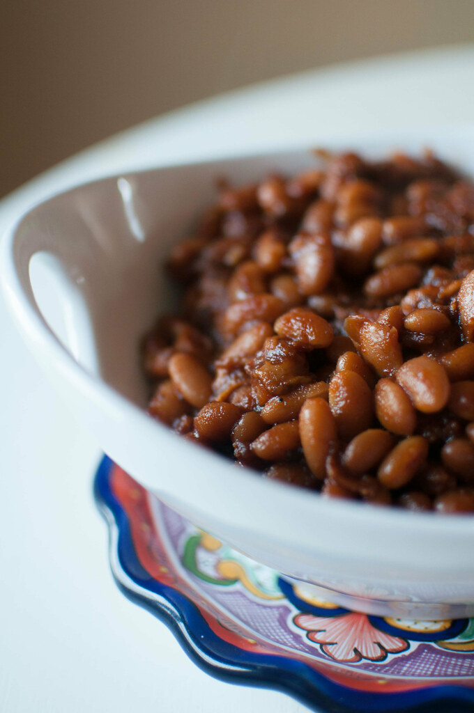 Bacon and Brown Sugar Baked Beans 2