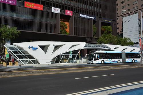臺中2B月臺: 臺中BRT:談談現況(12月上旬)