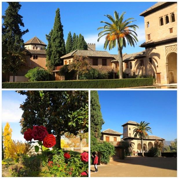 Palacio del Partal Alhambra Granada