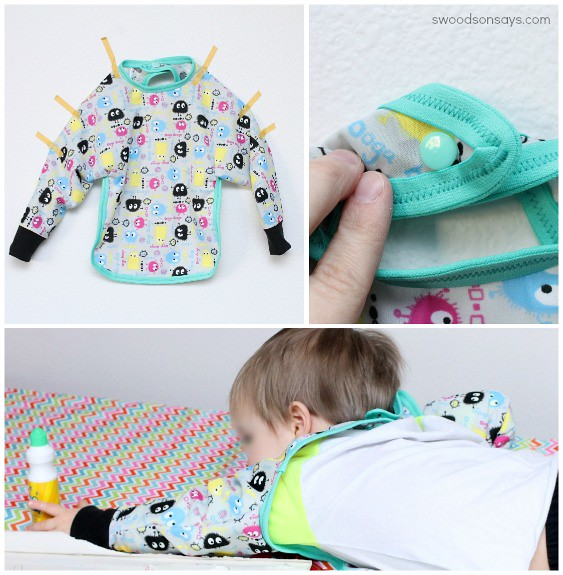 Long sleeved bib tutorial