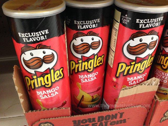 Mango Salsa Pringles (Walmart Exclusive Flavor)