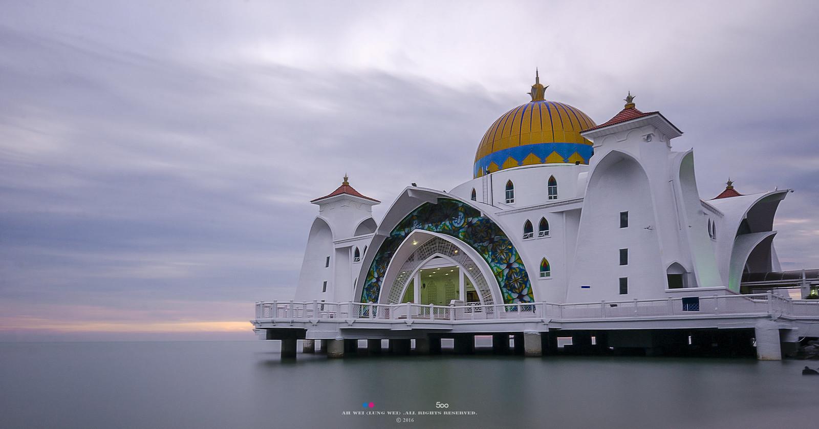 Masjid Selat Melaka, things to do in Melaka