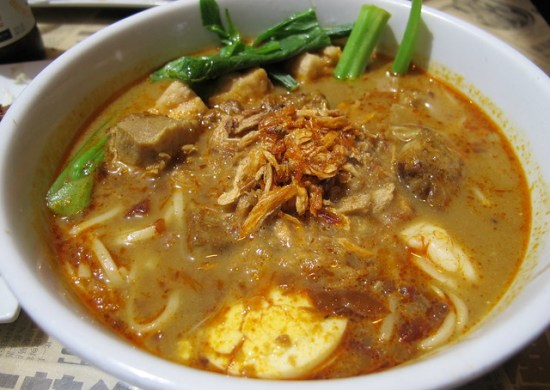 Orlando for foodies, Curry laksa