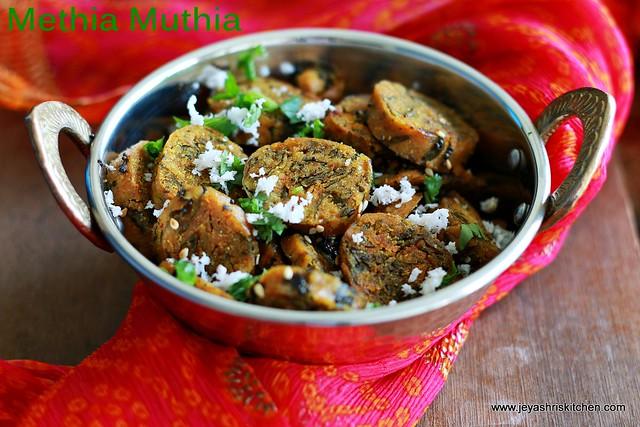 millet-methi muthia