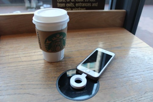 Starbucks Coffee Wireless Charging Powermat