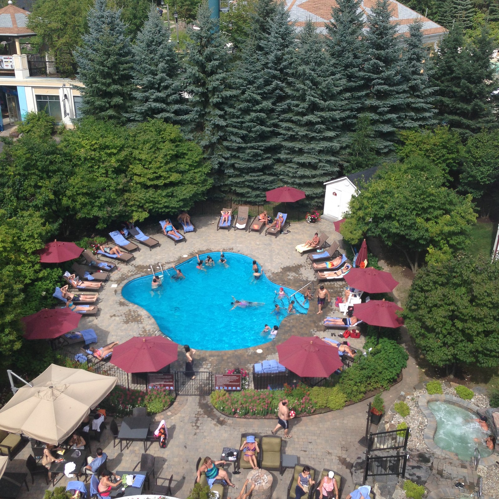 Mont-Tremblant Ski Resort pool
