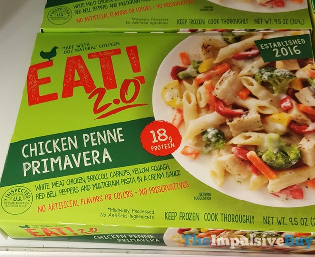 Eat! 2.0 Chicken Penne Primavera