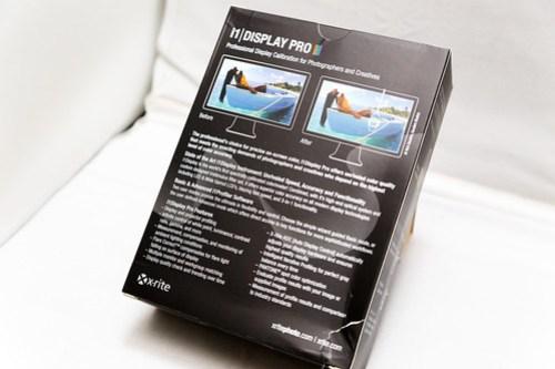 i1Display Pro パッケージ裏