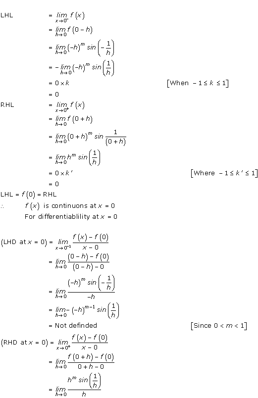 RD Sharma Class 12 Solutions Chapter 10 Differentiability Ex 10.1 Q5-ii