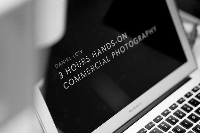 Daniel Low 3 Hours hands-on commercial photography