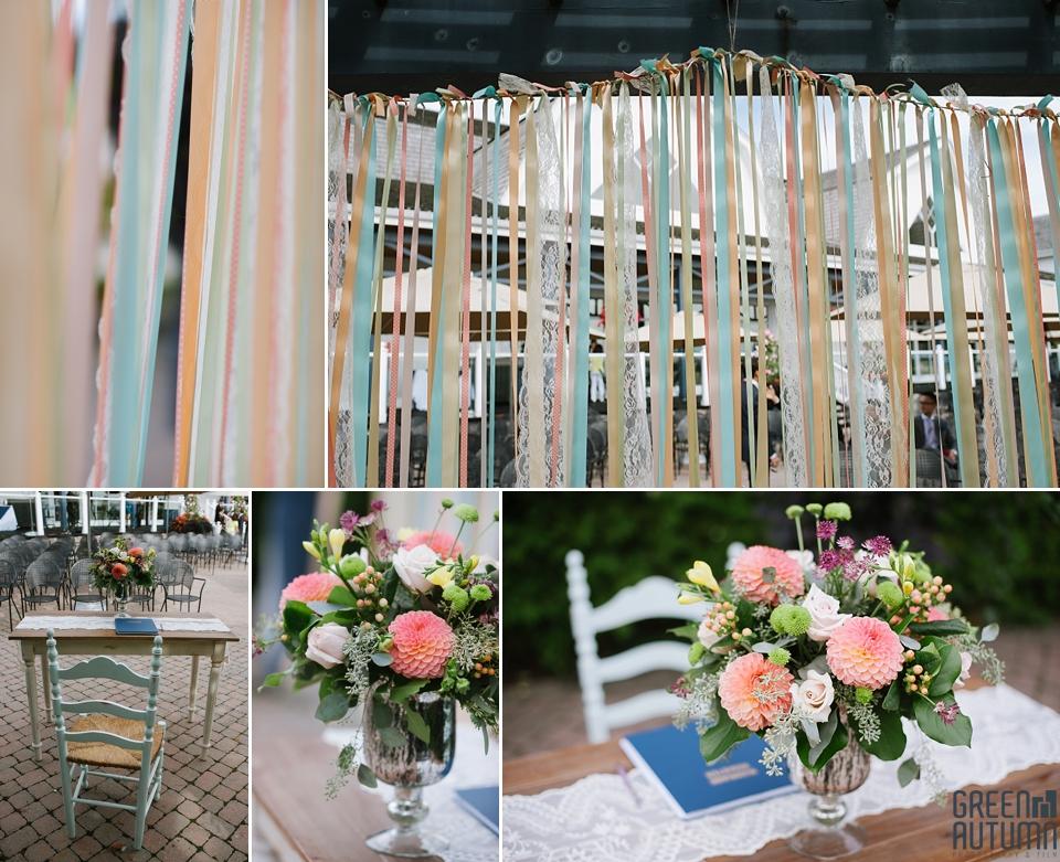 DIY Outdoor Great Terrace Ceremony Angus Glen Wedding Photography