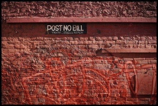 Post No Bill - San Francisco - 2015
