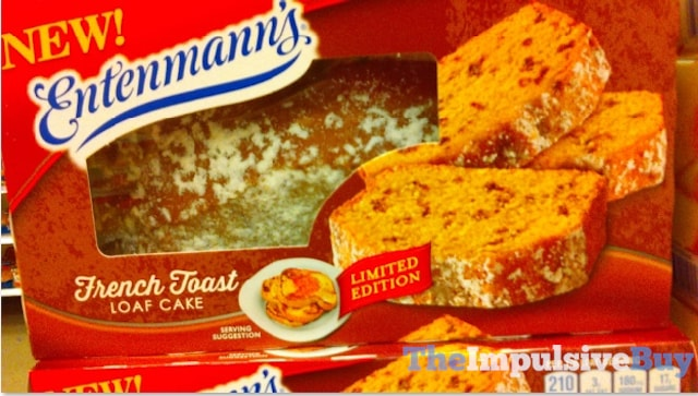 Entenmann's Limited Edition French Toast Loaf Cake