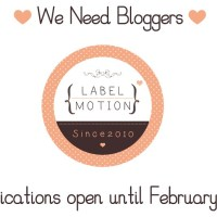 Label Motion APPLICATIONS now OPEN ♥