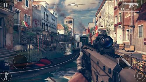 เกม Modern Combat 5: Blackout บน Vivo X5 มีกระตุกบ้าง
