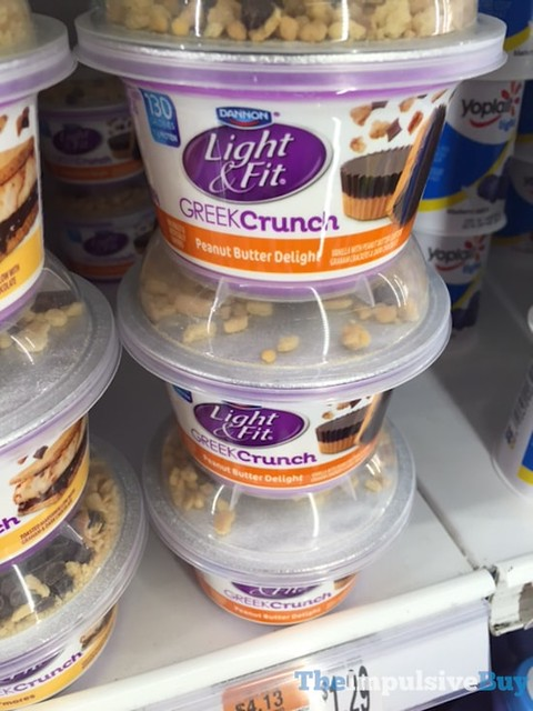 Dannon Light & Fit Greek Crunch Peanut Butter Delight
