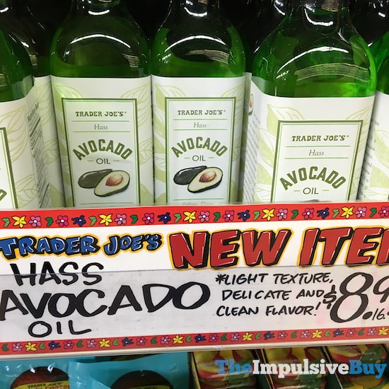 Trader Joe's Hass Avocado Oil