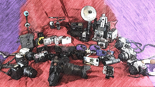 Panoply of Cameras