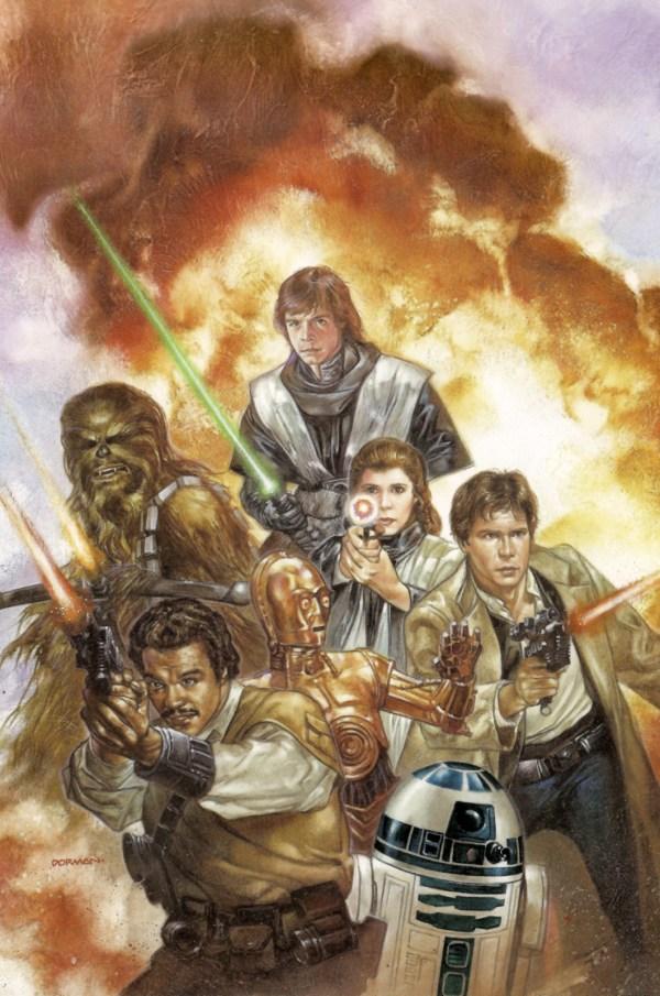Dave Dorman Star Wars Art