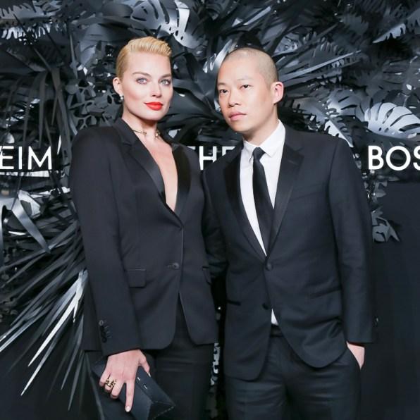 Margot Robbie and Jason Wu