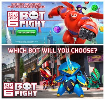 BIG HERO 6: BOT FIGHT Promos