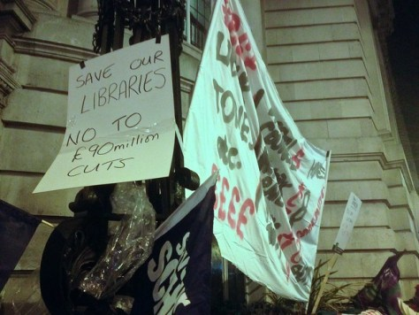 No To Austerity, No to £90m cuts in Lambeth