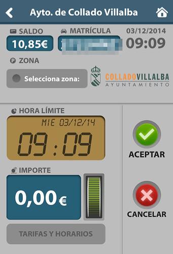 Los vecinos de Collado Villalba ya pueden pagar la ORA con su teléfono móvil