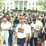Gregory May- March On Washington April 25, 1993