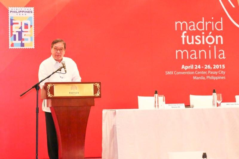Tourism Secretary Ramon Jimenez  Jr.
